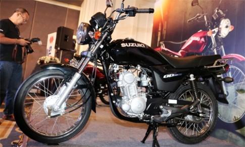 Suzuki GD110HU - xe con tay co nho moi gia 1.200 USD