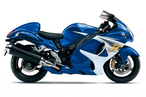 Suzuki Hayabusa moi co ba che do chay