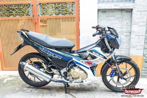 Suzuki Raider day tinh te voi nhung option do choi