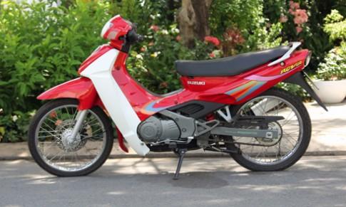 Suzuki RGV 120 chua mot lan lan banh o Sai Gon