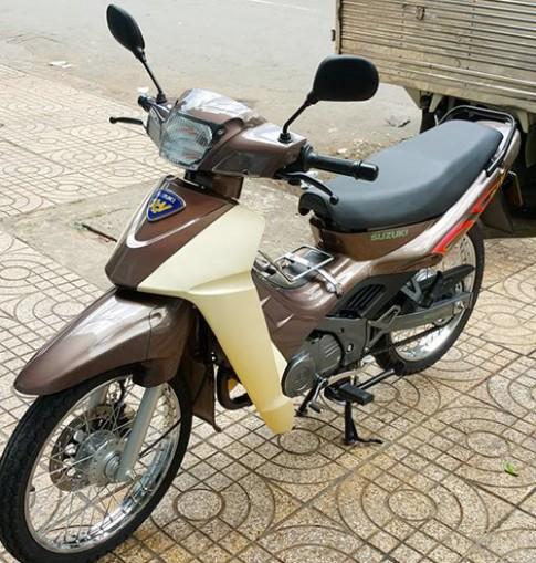 Suzuki RGV 120 - 'su xi-po' mau la o Sai Gon