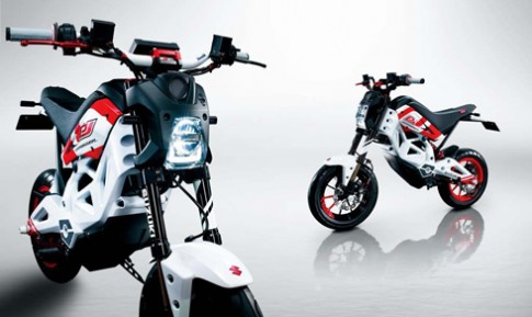 Suzuki san xuat xe dien canh tranh Honda MSX?