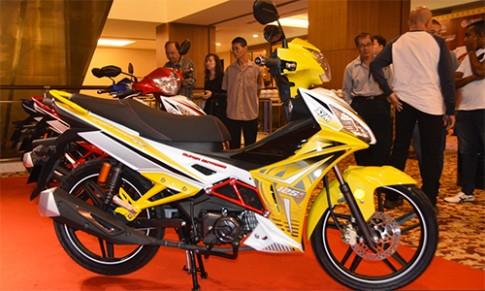 SYM Sport Rider 125i - 'mo' canh tranh Yamaha Exciter