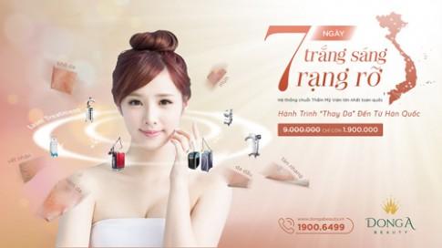 'Thay da' voi cong thuc 7 ngay tu Han Quoc cung Diep Lam Anh.
