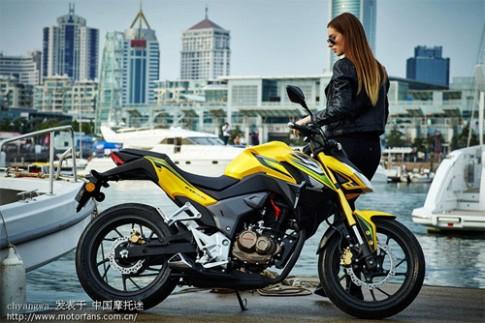 Them anh Honda CB190R/CBF190R