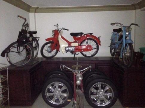 Thu vui suu tam xe co cua mot biker Q7