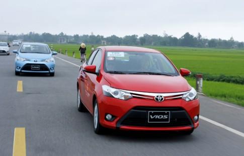 Toyota giam gia Vios va Altis toi 60 trieu tai Viet Nam