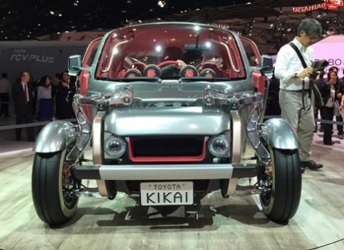 Toyota Kikai concept - khi ga khong lo thuc giac