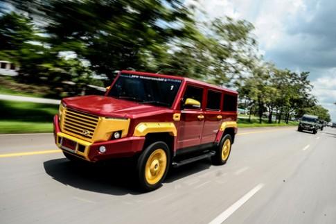 TR Transformer II - Hummer cua nguoi Thai gia 41.500 USD
