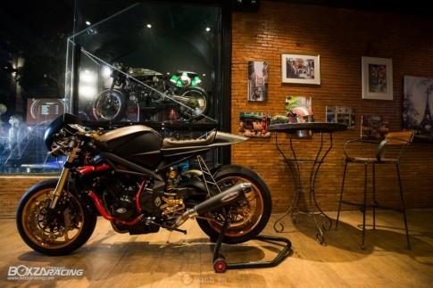 Triumph Street Triple 675 siêu ấn tượng trong bản độ Cafe Racer