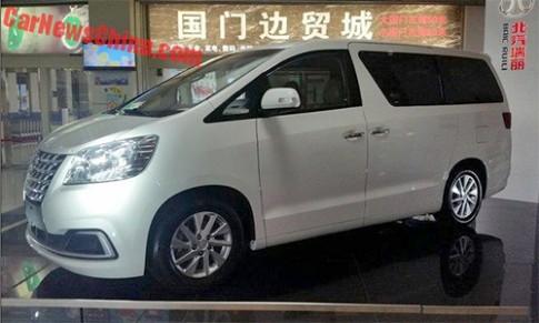 Trung Quoc lam xe 'nhai' Toyota Alphard