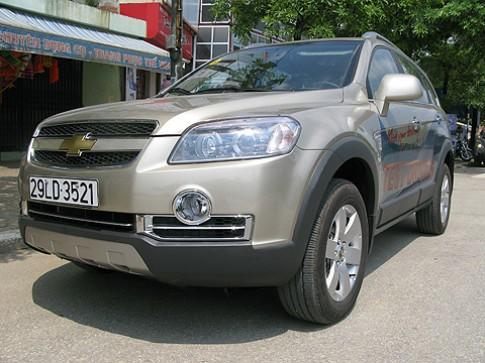 Vidamco trinh lang Chevrolet Captiva Maxx