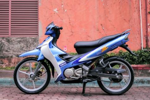 'Vua duong pho' Yamaha 125Z do ve 'zin' o Ha Noi