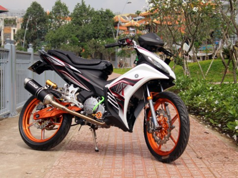 Xe do Yamaha Exciter cua dan choi Sai Gon
