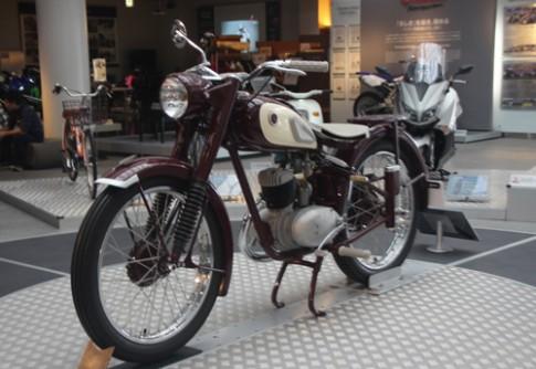 YA-1 - xe đua đầu tiên của Yamaha