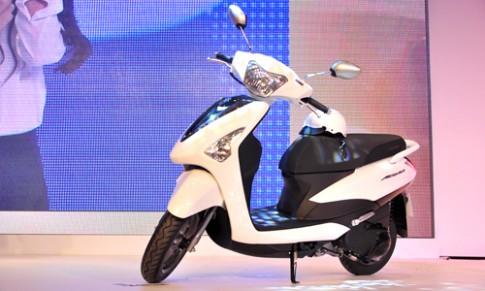 Yamaha Acruzo - doi thu moi cua Honda Lead tai Viet Nam