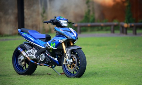 Yamaha Exciter 150 do ham ho cua dan choi Thai Lan