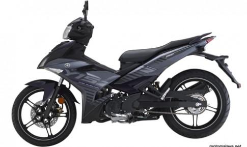 Yamaha Exciter 150 thêm phiên bản màu tím xám