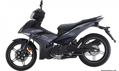 Yamaha Exciter 150 them phien ban mau tim xam