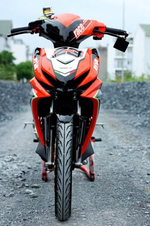 Yamaha Exciter do Aprilia tai Sai Gon