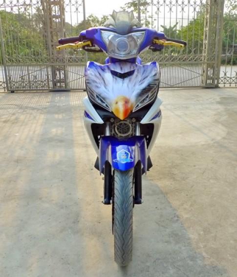 Yamaha Exciter do ca tinh cua sinh vien Ha Nam