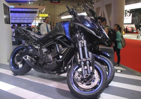 Yamaha giới thiệu mẫu xe 3 bánh MWT-9