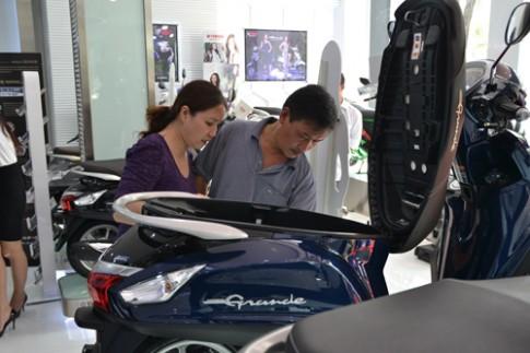 Yamaha Grande ra mat tai VN