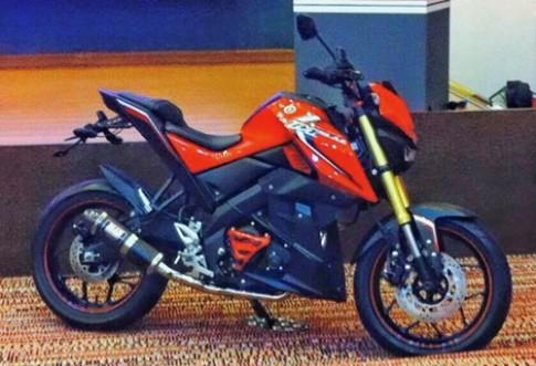 Yamaha M-Slaz - nakedbike 150 phan khoi gia 2.500 USD