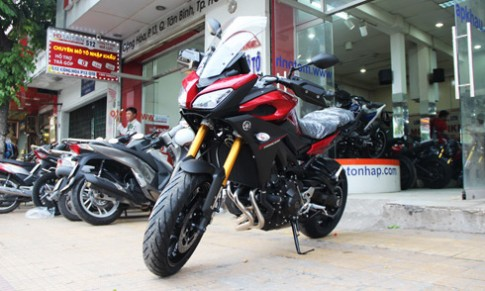 Yamaha MT-09 Tracer về Việt Nam giá hơn 300 triệu