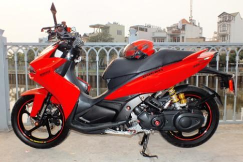 Yamaha Nouvo do phong cach Ducati 1199 tai Sai Gon