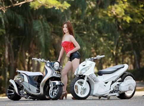 Yamaha Nouvo do phong cach VIP