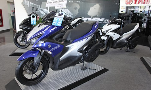 Yamaha NVX ABS khan hàng, giá chênh trên 2 triệu đồng