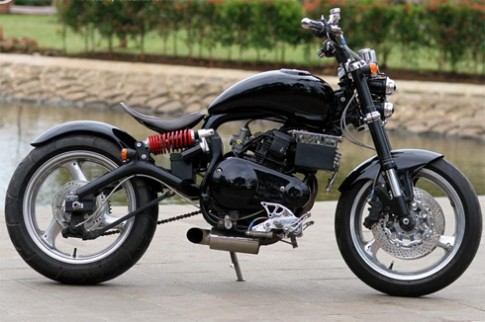 Yamaha Scorpio do 'kieu' David Beckham