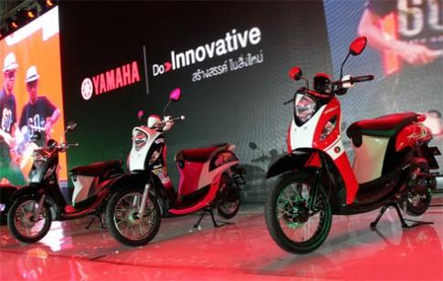 Yamaha trình làng Fino thế hệ mới