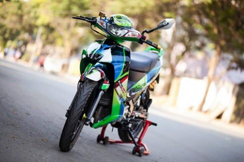 Yamaha Z125 do 'khung' 400 trieu tai Sai Gon