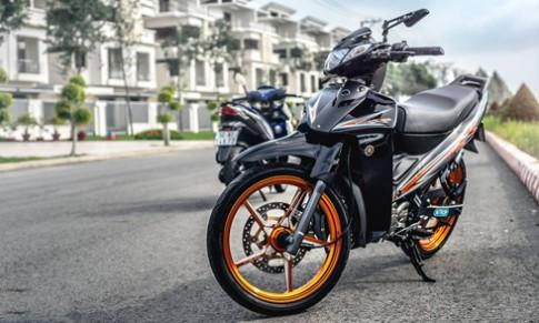 Yamaha Z125R 'bien tau' cong nghe cua dan choi Sai Gon