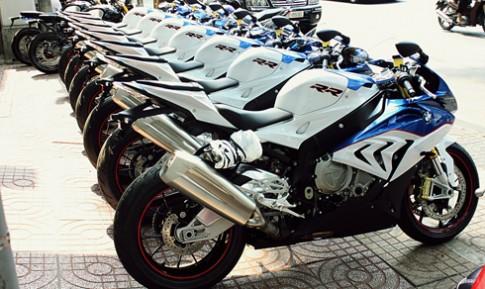 Dàn siêu môtô BMW S1000RR đời mới ở Sài Gòn