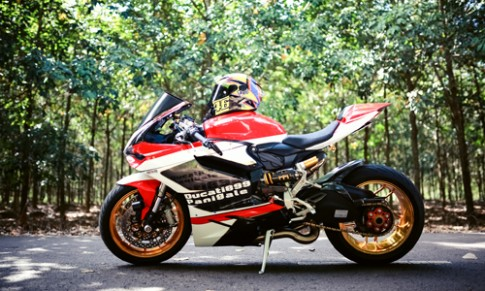 Ducati 899 Panigale do vanh ma vang cua tay choi Dong Nai