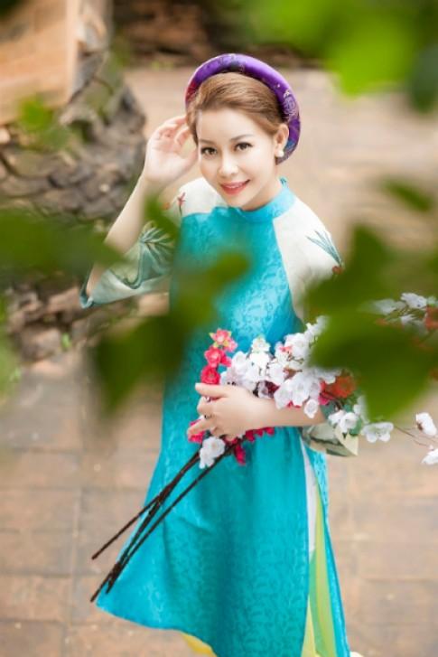 Hoa hau Hai Duong rang ro voi ao dai cach tan