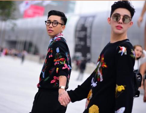 Hoàng Ku chất lừ đến từng centimet đi xem Seoul Fashion Week 2016