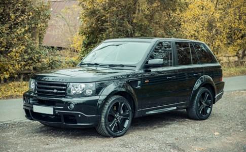 Range Rover Sport dac biet cua David Beckham
