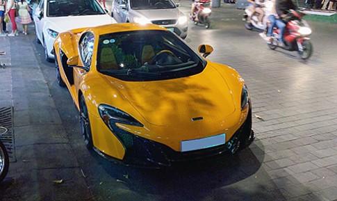 'Xe doc' McLaren 650S dao pho Sai Gon