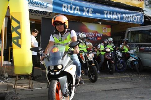6 biker xuyen Viet thu thach do ben xe may
