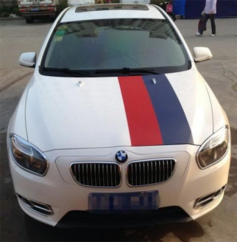 Bien xe Trung Quoc thanh BMW voi 63 USD