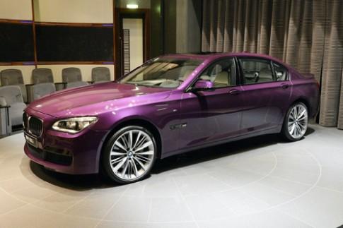 BMW 760 Li mau tim chang vang