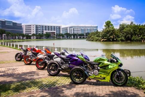 Dan xe Ducati Panigale hoi tu tai Sai Gon