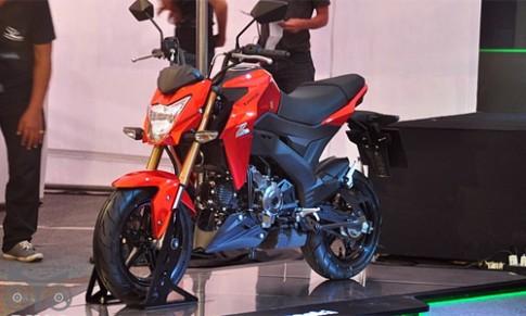 Kawasaki Z125 ra mat tai Thai Lan