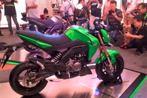 Kawasaki Z125 - 'tieu Z1000' gia tu 2.000 USD tai Thai Lan
