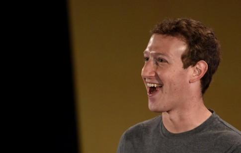 Mark Zuckerberg trở thành người giàu thứ 6 thế giới