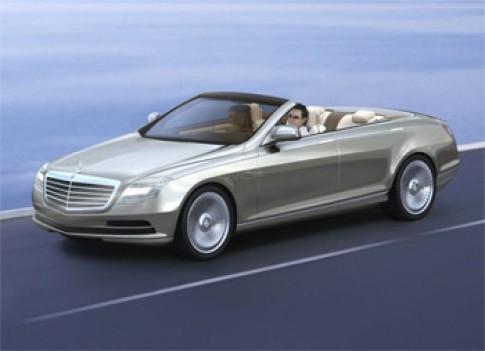 Mercedes-Benz tái sinh dòng xe mui xếp 4 cửa